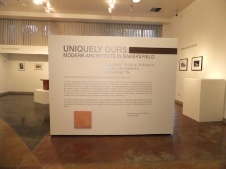 BMOA Neutra Wright Exhibition through March 6