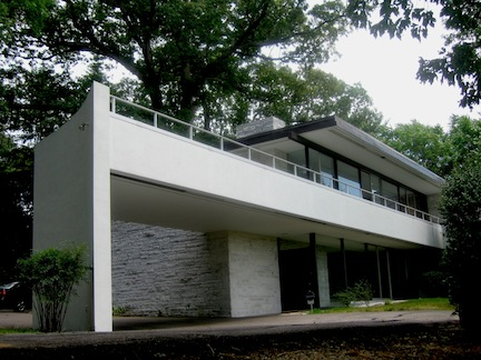 The Walter and Inger Rice House, Richmond, Virginia, 1965. Photo by bml.