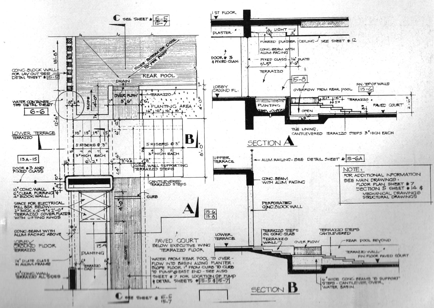 Santa Barbara Mission Floor Plan The Obsolescence Of Optimism Neutra And Alexander S U S