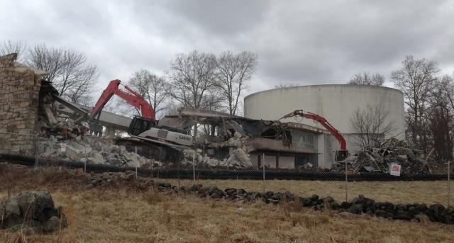 Cyclorama Demolition Feb 28 2013