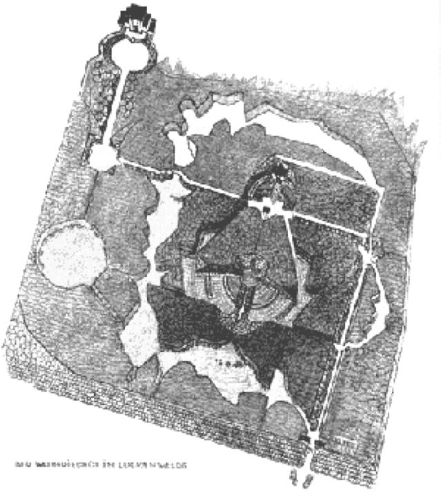 Plan, Waldfriedhof