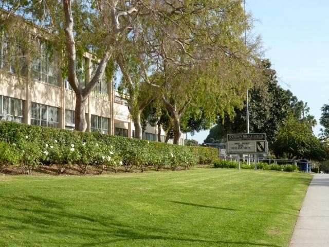 Ralph Waldo Emerson Middle (Junior High) School, Westwood, Los Angeles, 1937.