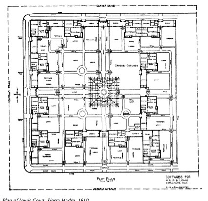 Lewis Courts Gill plan
