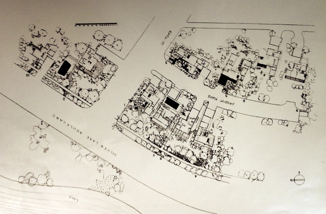 Silverlake Colony Map
